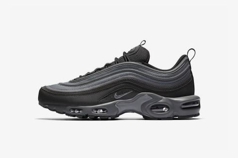 buy popular fe9ac dc7b6 How to Cop Nike s All-Black Reflective Air Max Plus 97 Hybrid