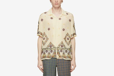 Beaded Divine Short Sleeve Shirt