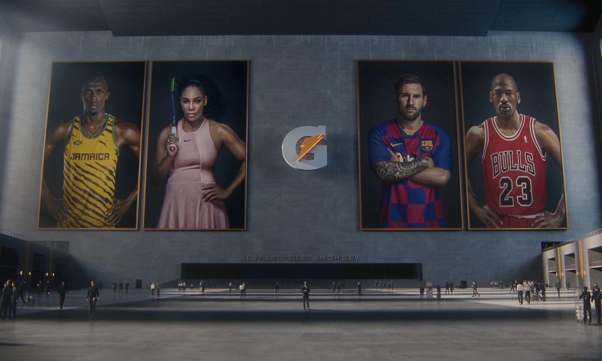 Serena Williams & Lionel Messi Star in Epic Gatorade Commercial