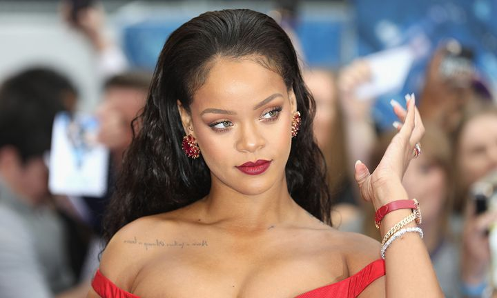 "Rihanna attends the ""Valerian And The City Of A Thousand Planets"" European Premiere"