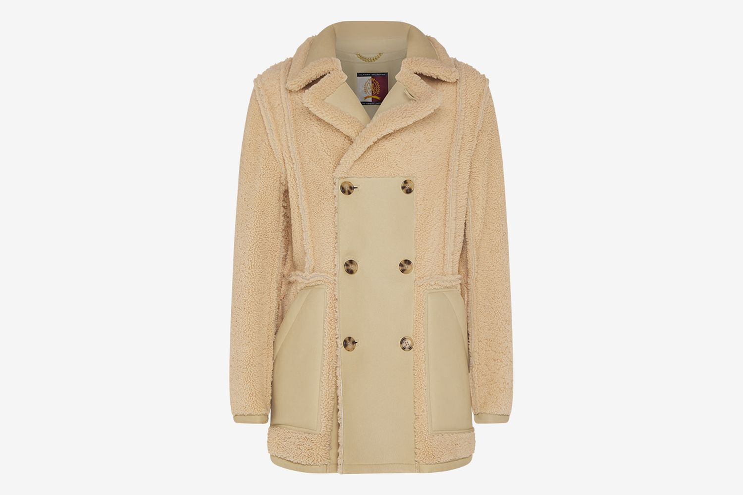 Hilfiger Collection Reversible Shearling Coat