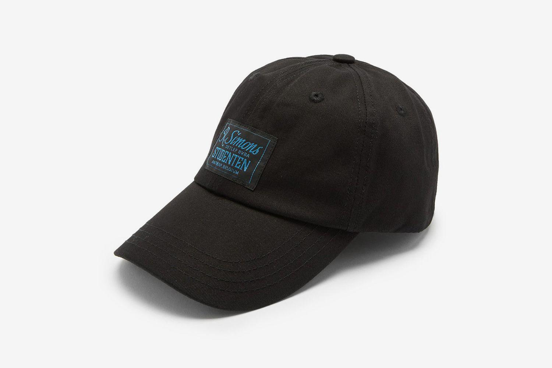 Studenten Logo-Appliqué Cotton-Twill Baseball Cap