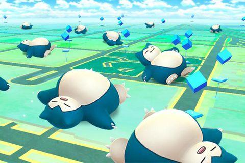 pokemon go sleep pokemon sleep