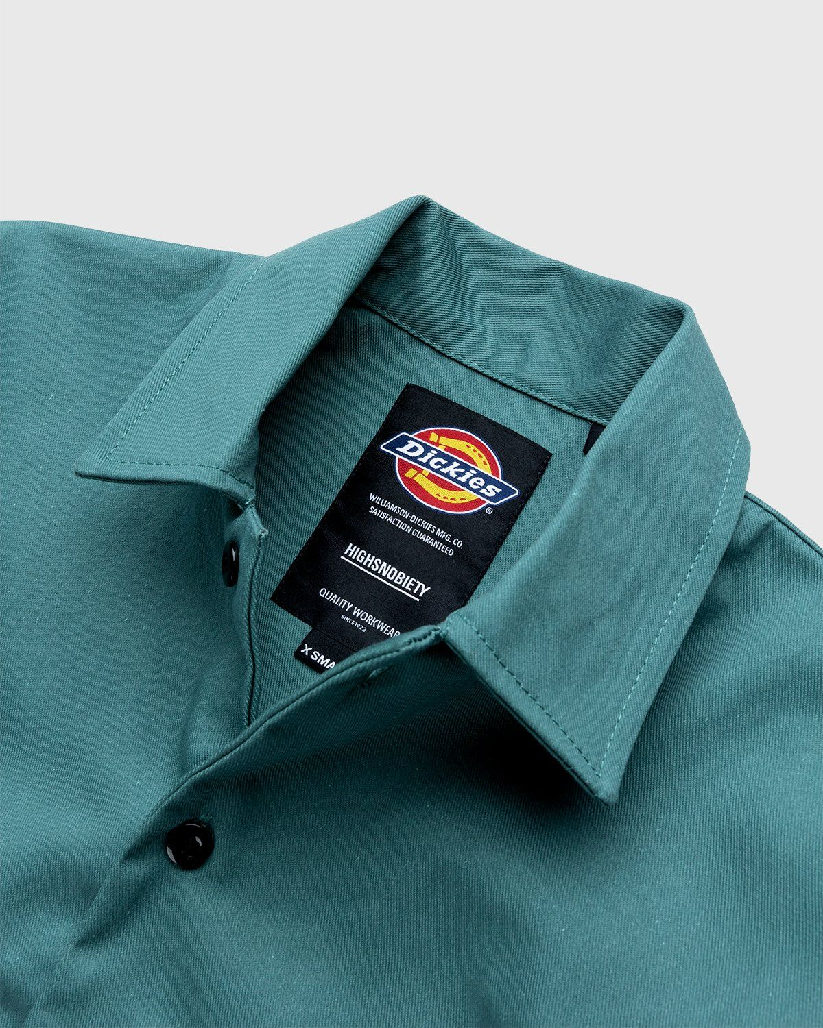 Highsnobiety x Dickies – Service Shirt Lincoln Green - Image 3