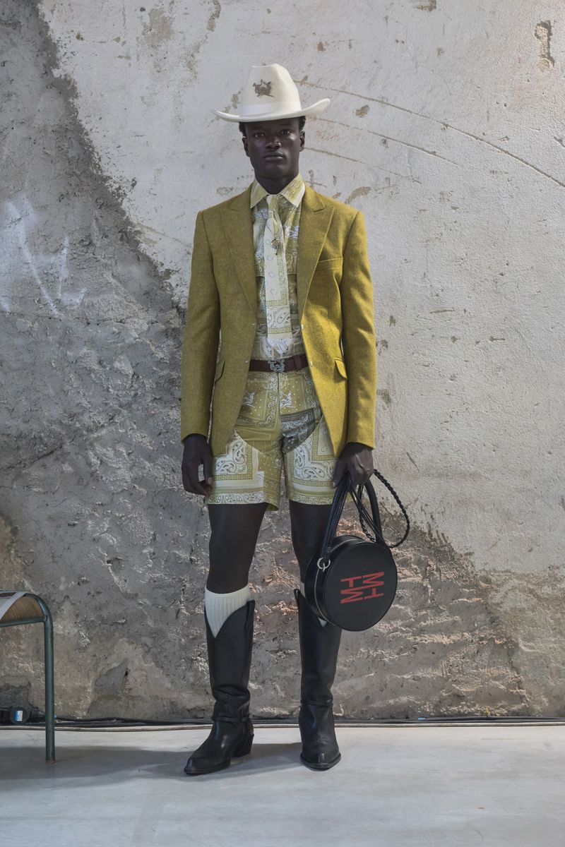 Thebe Magugu's Menswear Debut at Pitti Is Everything We Hoped It Would Be