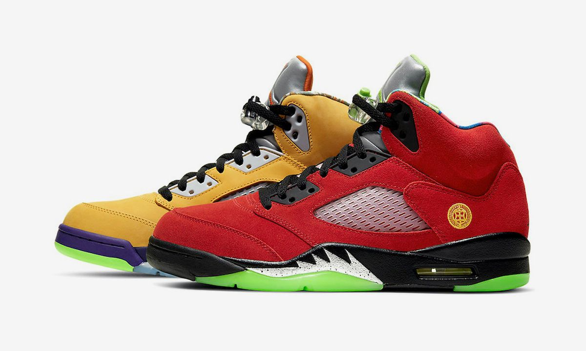 "Air Jordan 5 ""What The"": Official Images & Release Info"