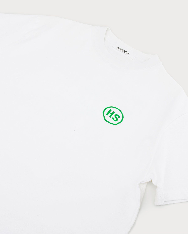 Highsnobiety x L'AS du FALLAFEL - Logo T-Shirt White - Image 7