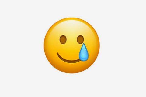 crying smiling emoji