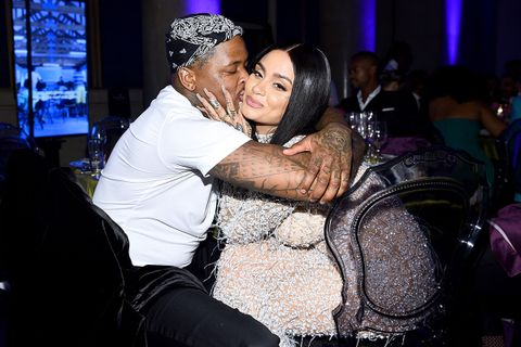 YG and Kehlani attend Rihanna's 5th Annual Diamond Ball