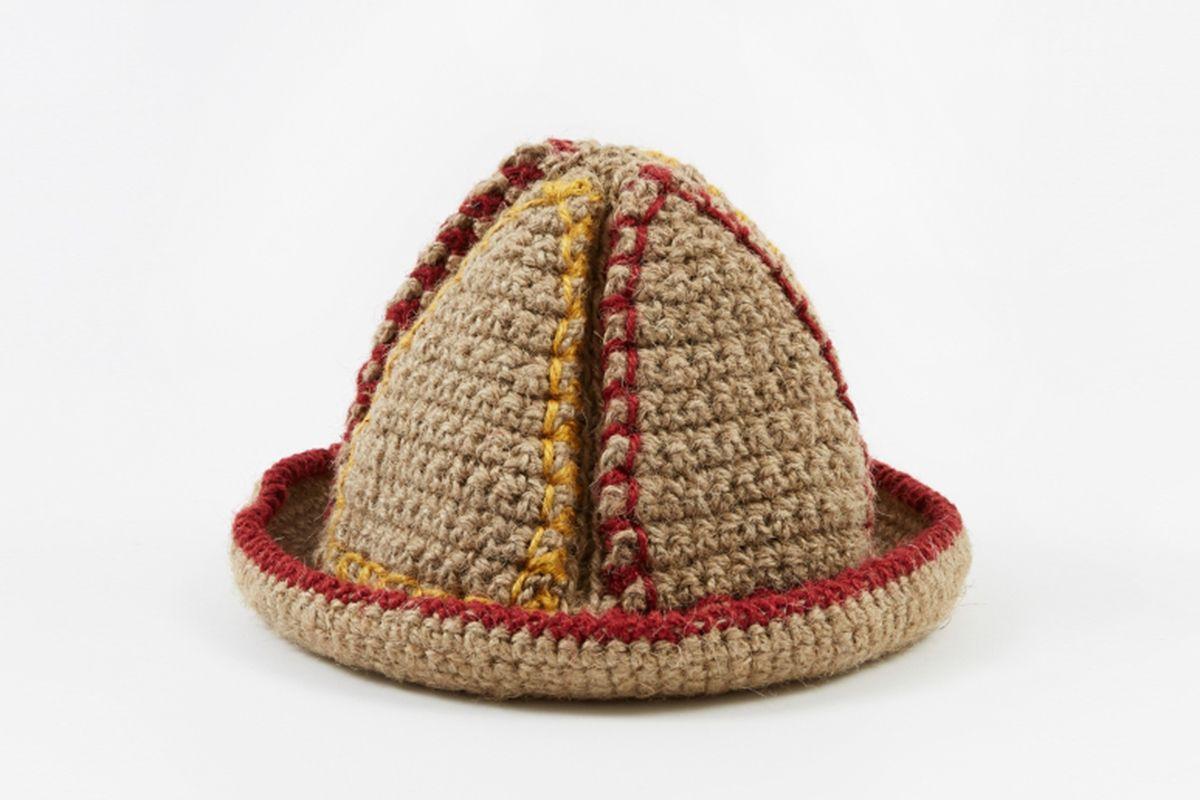 Handknitted Jute Bucket Hat