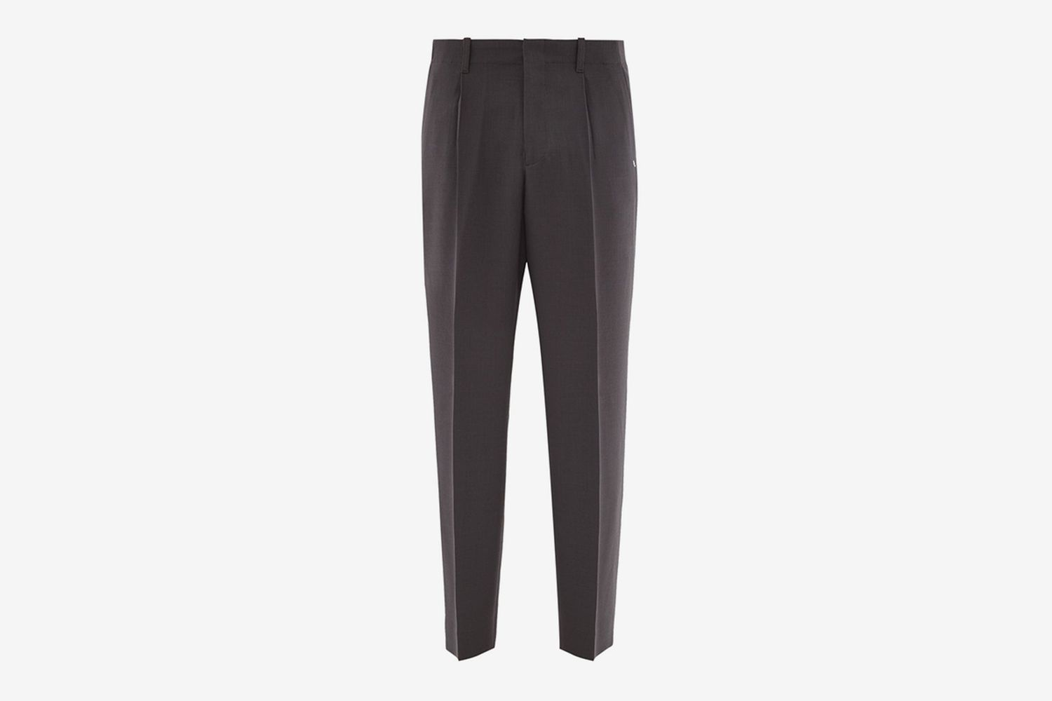 Borrowed Wool Wide-Leg Trousers