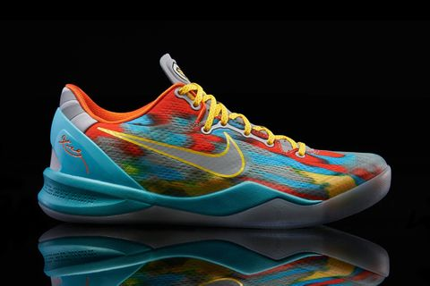 new style 77ae4 64b19 Inspired by Los Angeles s Venice Beach, Nike has created a stadium  grey university gold-night stadium edition of the Kobe 8 System.