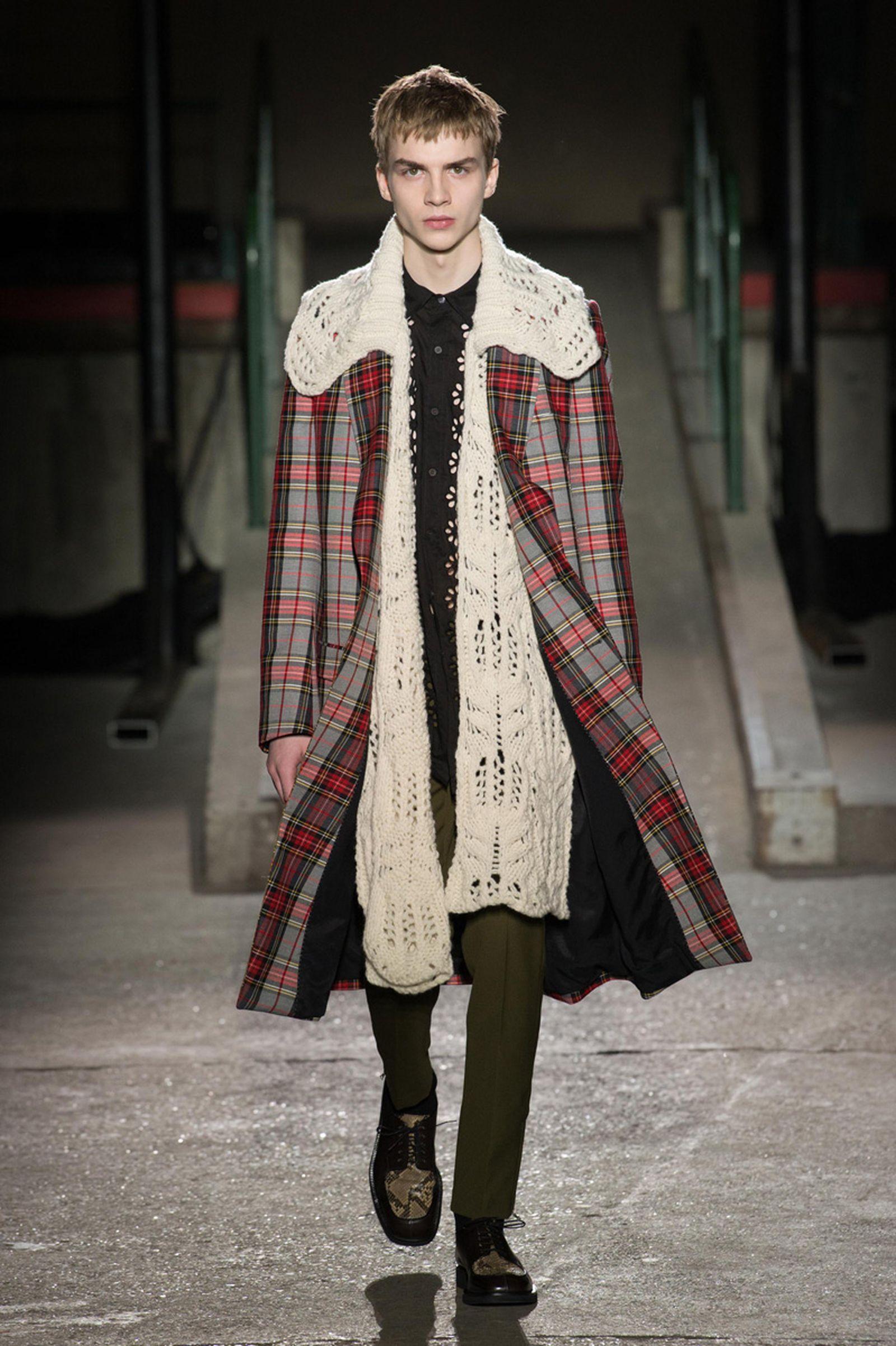 dries van noten AW18 19 look010 fashion week 2018 paris fashion week runway