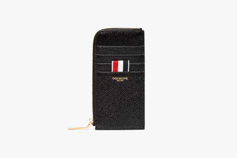 Half Zip Around Wallet