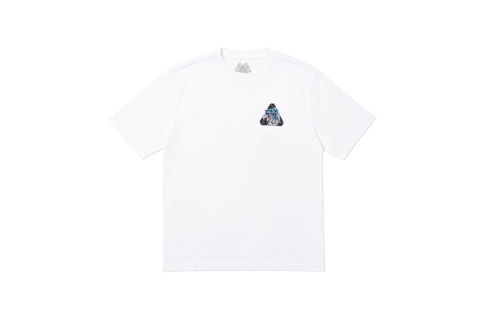Palace 2019 Autumn T Shirt Ripped white front