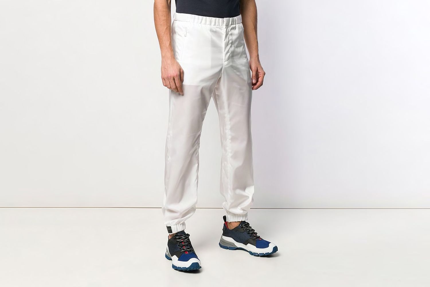 Tapered Elasticated Trousers