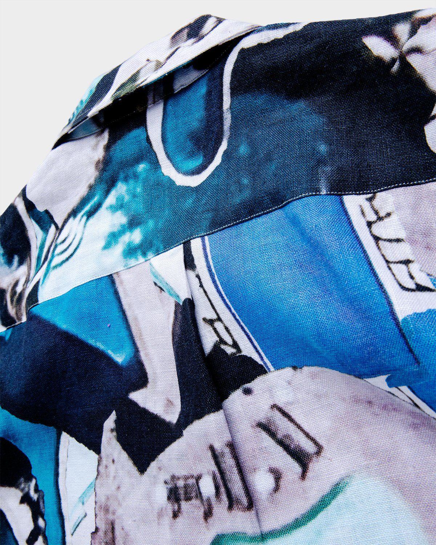 Vilebrequin x Highsnobiety — Pattern Shirt Blue - Image 4