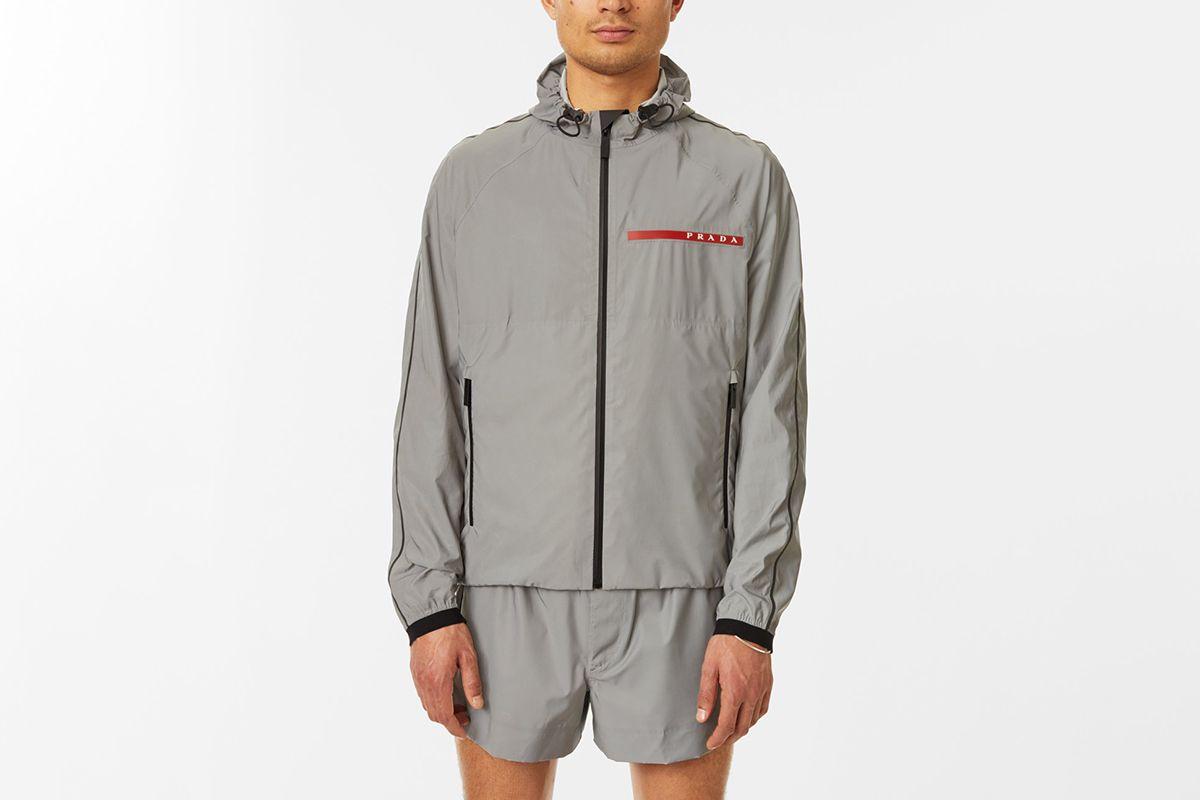 Reflective Zip Jacket