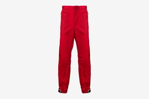 Shiny Tapered Trousers