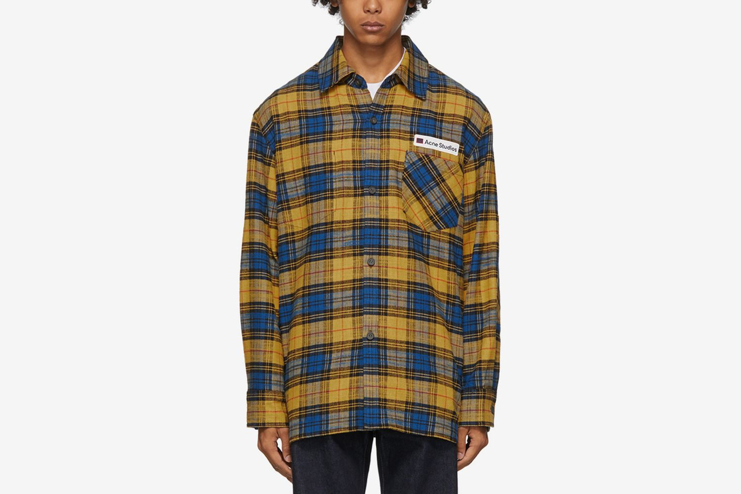Flannel Logo Patch Shirt