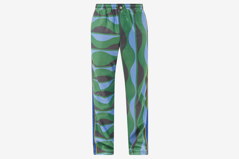 Joy Wave-Print Jersey Track Pants