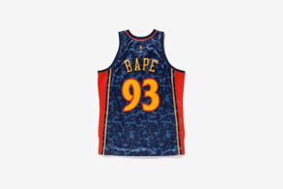 quality design c25fa 7f626 Take a Closer Look as Snoop Dogg Models BAPE's NBA Collab