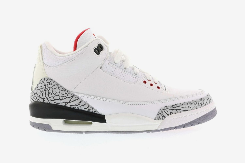 Air Jordan 3 Ciment Blanc