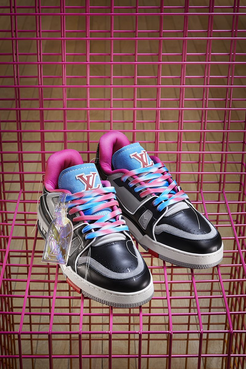 Virgil's New LV Trainers Are Made From Old Louis Vuitton Shoes 3