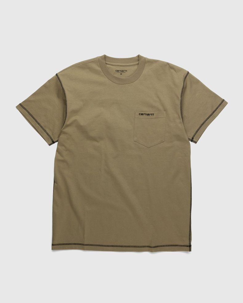 Carhartt WIP – Nazka Pocket T-Shirt Brown