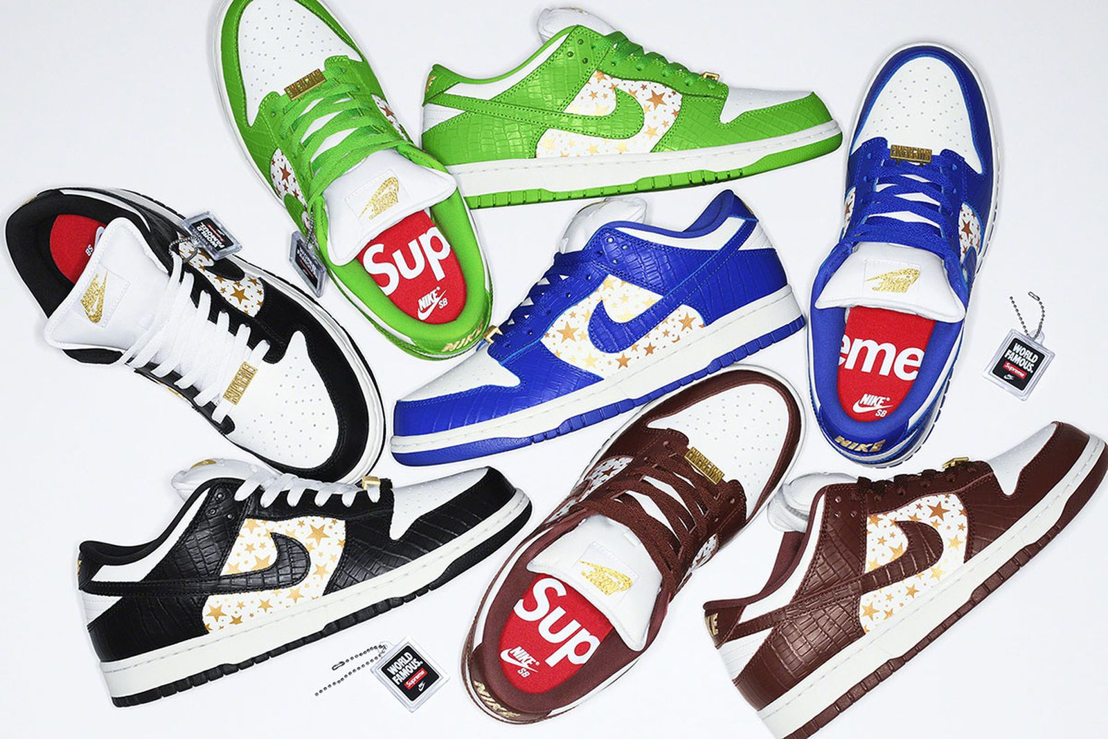 Supreme x Nike SB Dunk Low: Official Release Information