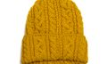 Highland 2000 Yellow Cable Knit Hat