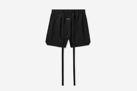 Nylon Drawstring Shorts