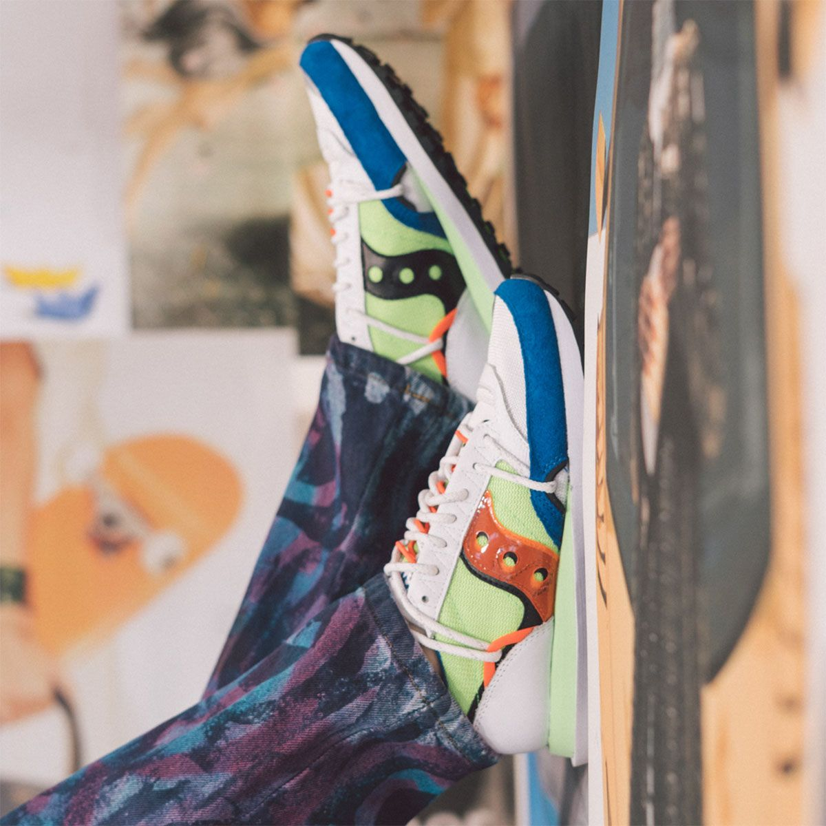 "Saucony's ""Abstract Jazz"" Pack Reimagines an Icon Into Three New Styles 1"