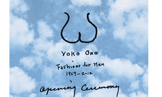 Yoko Ono Creates 'Fashions for Men' Collection for Opening Ceremony