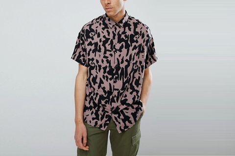 Camo Print Shirt