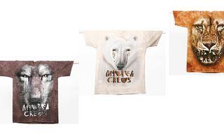 Andrea Crews Crying Animals Shirts Fall/Winter 2012