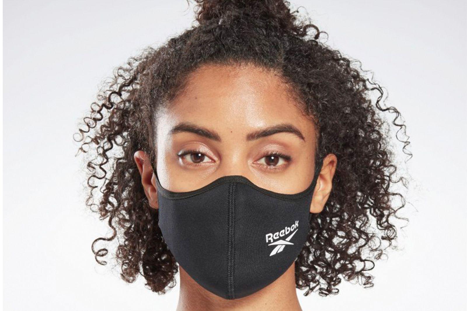 reebok face mask