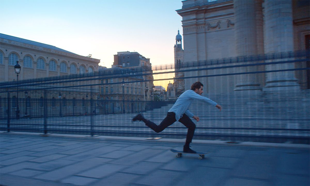 This Is What It's Like to Skateboard in the Louvre