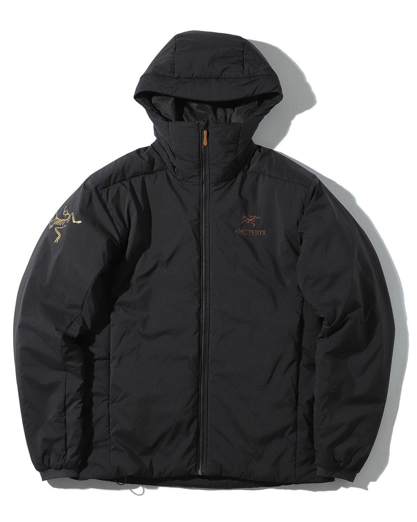 beams arcteryx fall winter 2021 fw21 black gold zeta sl atom ar hoody jacket mantis 1 2 bag collaboration collection