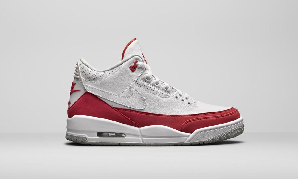"the latest 44221 d5b44 The ""Air Max 1"" Nike Air Jordan 3 Tinker With Replaceable Swoosh Drops Today"