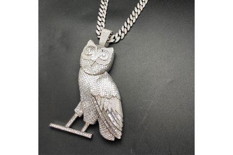 drake 100 carat ovo owl pendant