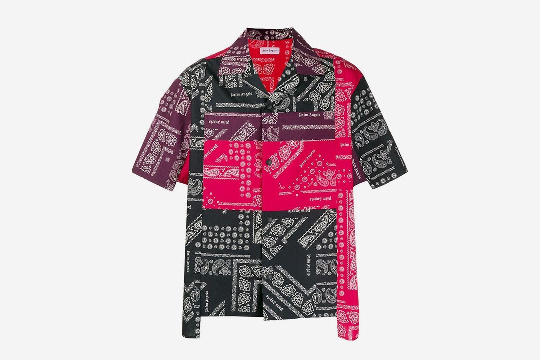Patchwork Printed Shirt