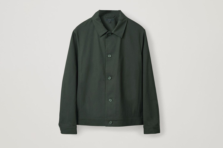 Button-up Shirt Jacket