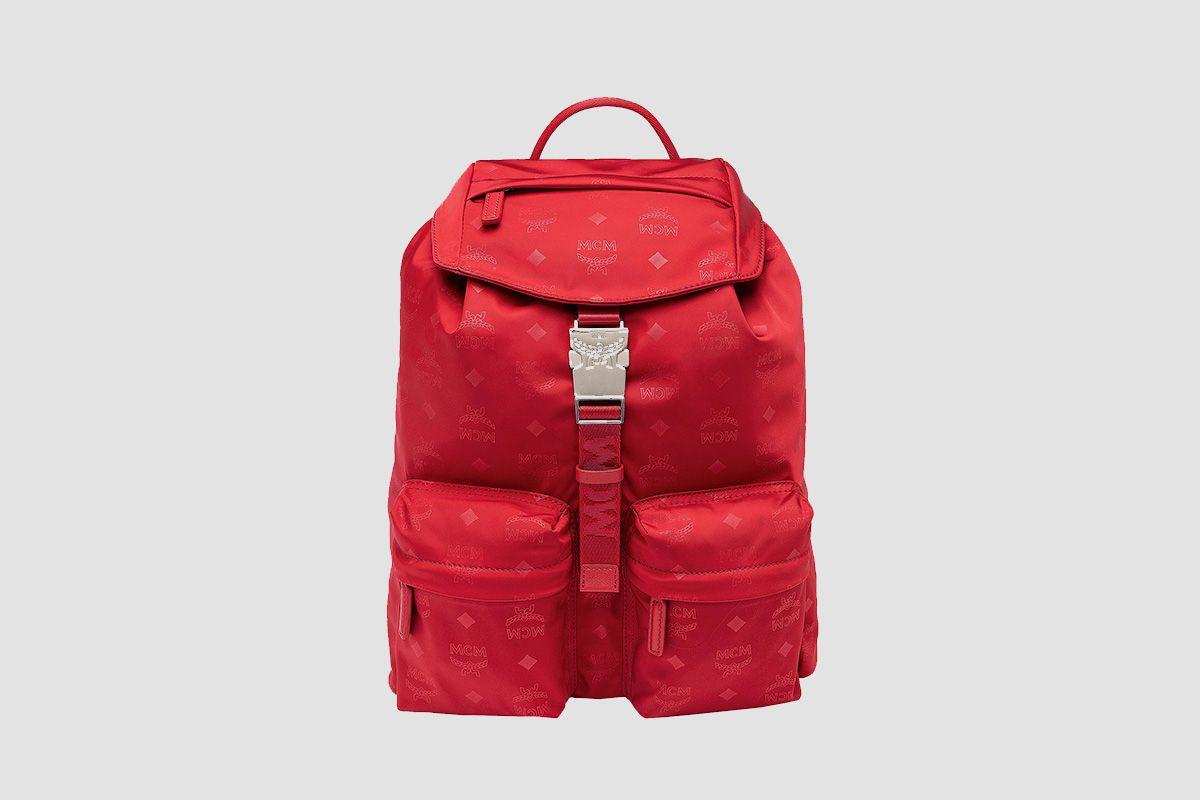 Dieter Two Pocket Backpack in Monogram Nylon