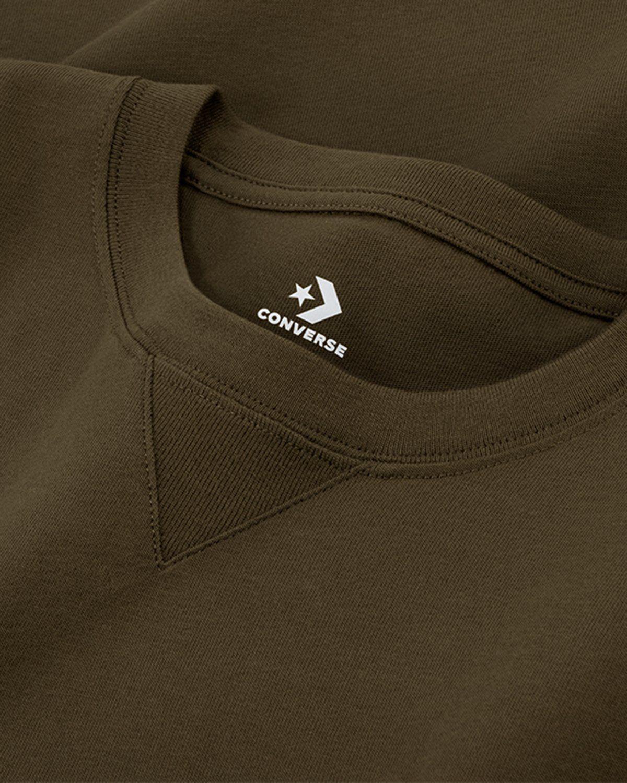 Converse x Kim Jones — T-Shirt Burnt Olive - Image 3