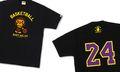 BAPE® Basketball T-Shirt – BAPE STORE® Los Angeles Exclusive