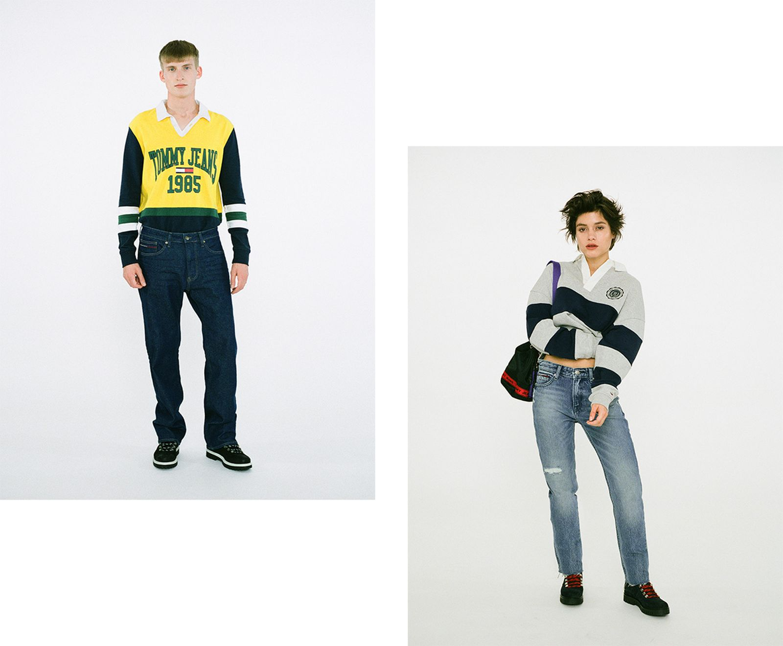 tommy jeans fw18 collection tommy hilfiger