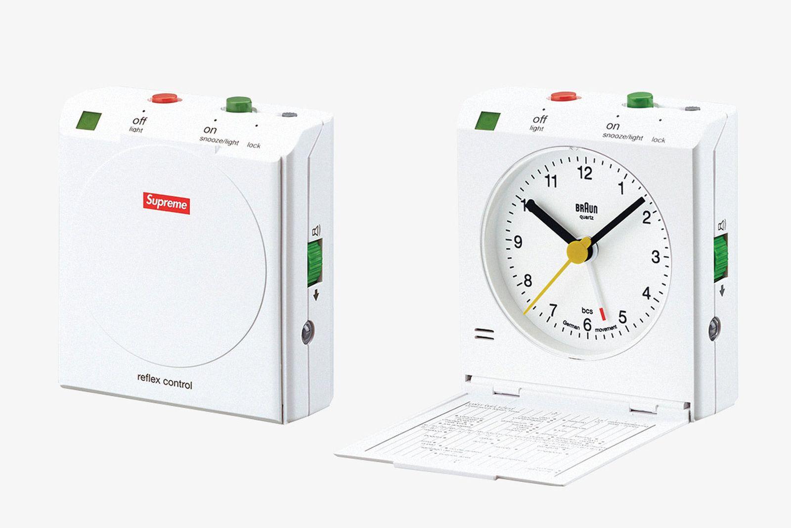 supreme accessories clock