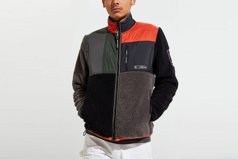 Full-Zip Sherpa Fleece Jacket