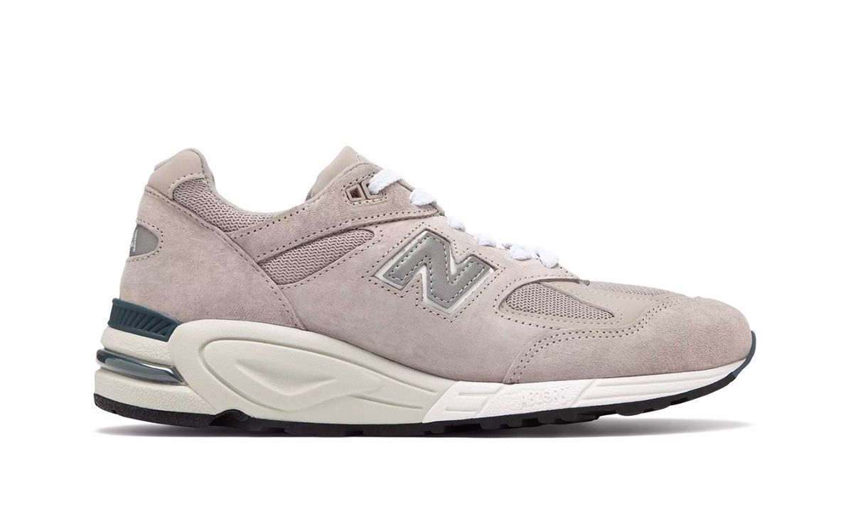 the latest 3f91b 4e16e New Balance 990v2 in Gray  White  Release Date, Price   More Info